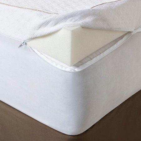 """Ultimate Comfort 4"""" Memory Foam Mattress Topper   Fieldcrest"""