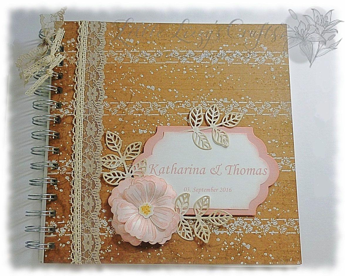 Hochzeitsgstebuch  Meine Werke mit Stampin Up  Bcher