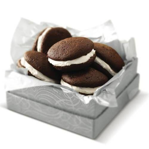 Triple-Chocolate Whoopie Pies #ediblegift