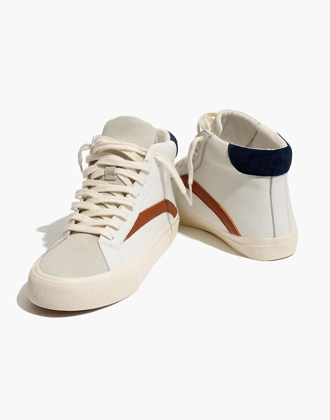 Colorblock Leather   Womens sneakers