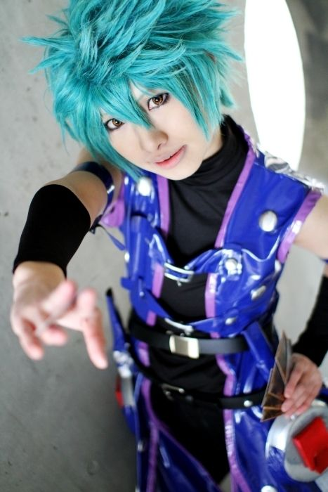 Cosplay Akiza - Yu-Gi-Oh! Monstros de Duelo
