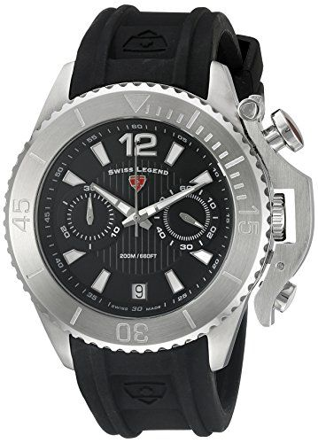 Swiss Legend Scorpion Herren Armbanduhr 47mm Armband Silikon Gehause Edelstahl Schweizer Quarz 14018sm 01 Http Uhr Haus Swiss L Armbanduhr Uhren Uhren Shop