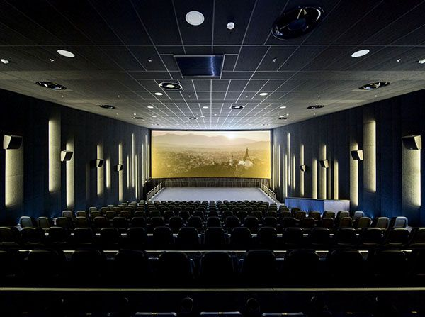 Multiplex Atmocphere Cinema By Sergey Makhno On Interior Design Served With Images Theatre Interior Home Theater Design Cinema Design