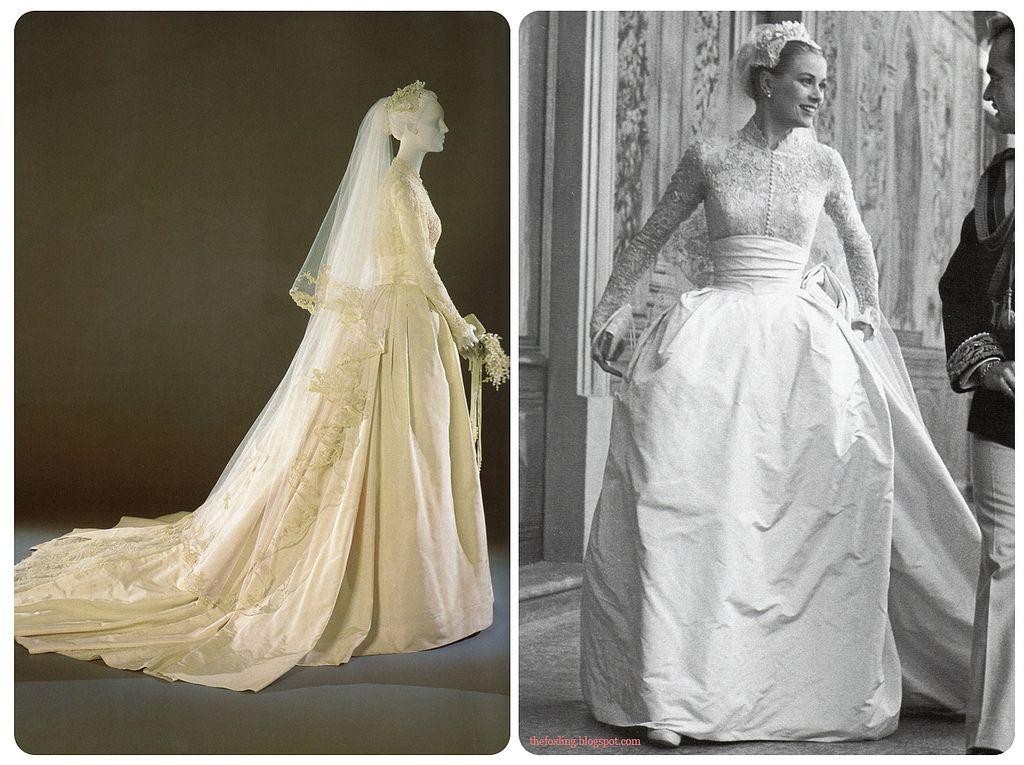 Grace Kelly\'s Wedding Dress   Grace kelly, Helen rose and Prince rainier