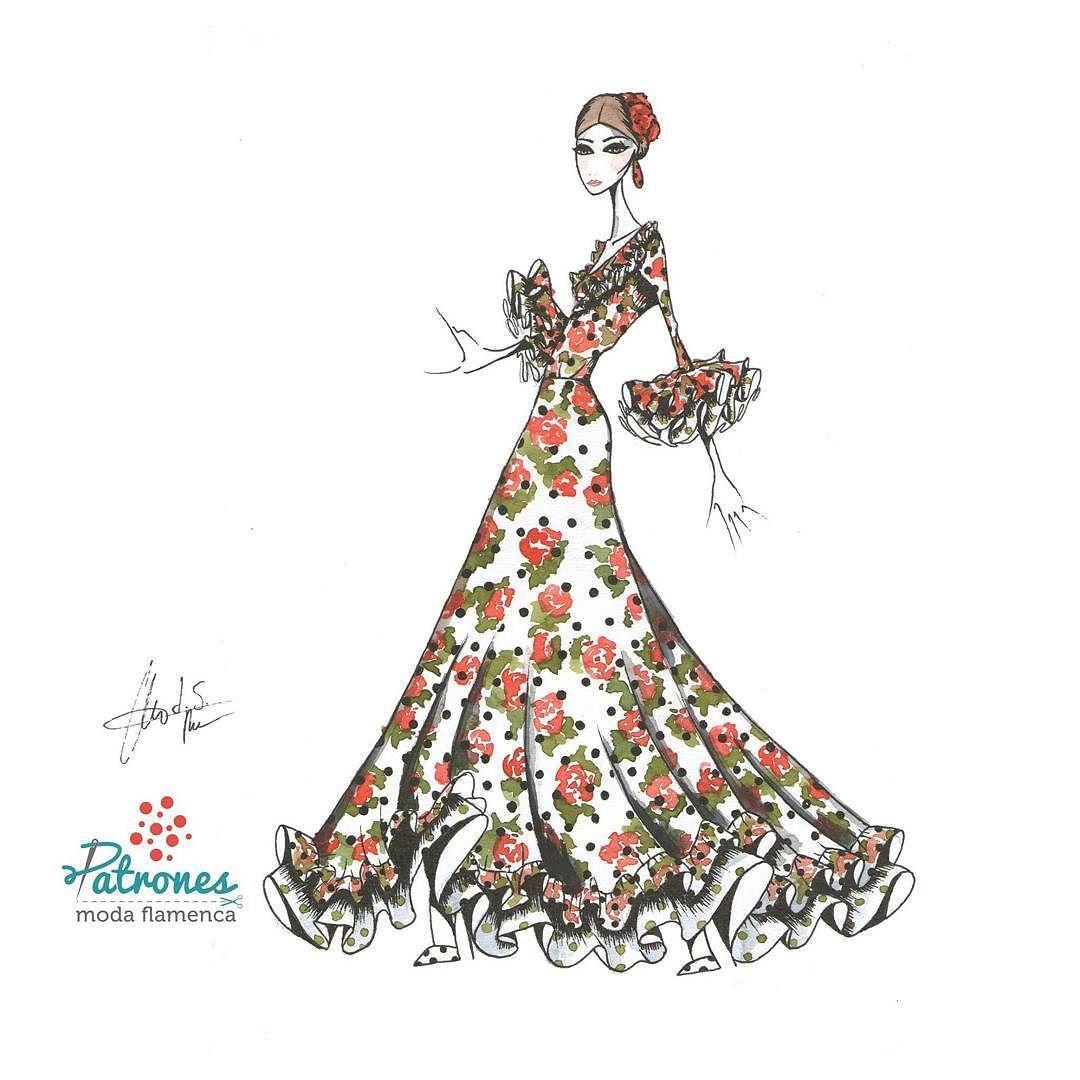 Este es nuestro traje Acacia. Un patrón muy pedido para baile gracias a su forma de capa y para nosotras muy especial. Esperamos que os guste y que paséis un bonito viernes  . . . . . #Acacia #Patronesmodaflamenca #patronistaflamenca #patronaje #modaflamenca #volantes #Flamencura #hoymesientoflamenca #loveit #feria #Romeria #lookflamenco #hazlotumismo #diy #costura #corteyconfeccion