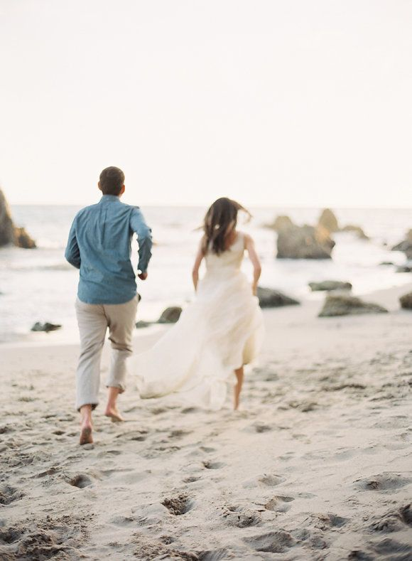 Relaxed Coastal Engagement Session