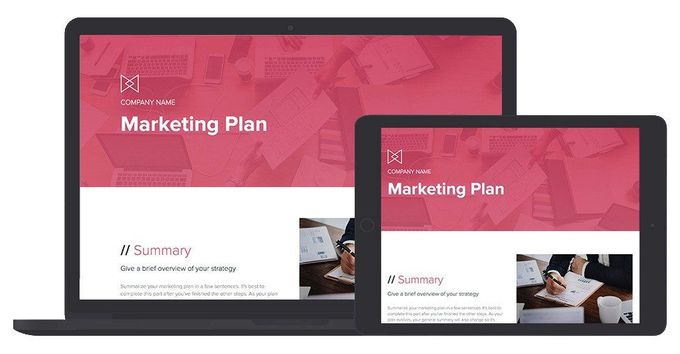Marketing Plan Template and Examples Marketing plan