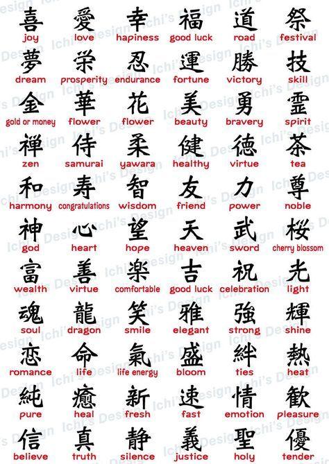 Japanese Kanji Set (instant download) / eps / png