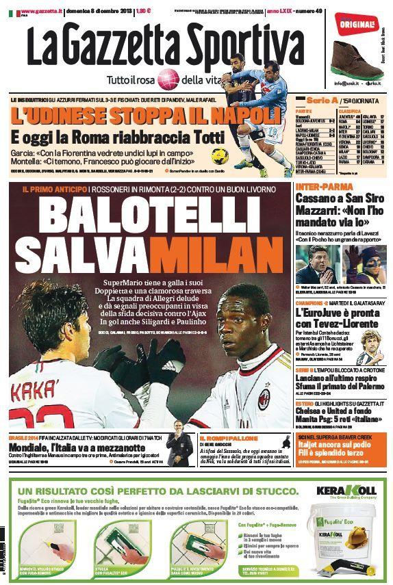 La Gazzetta dello Sport (081213) Italian True PDF 40