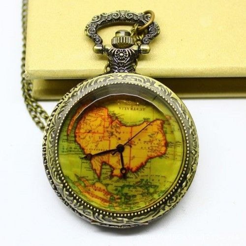 Map pocket watches