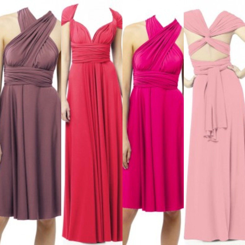 Infinity Dress, Bridesmaids Dresses, Wrap Dresses, Convertable ...