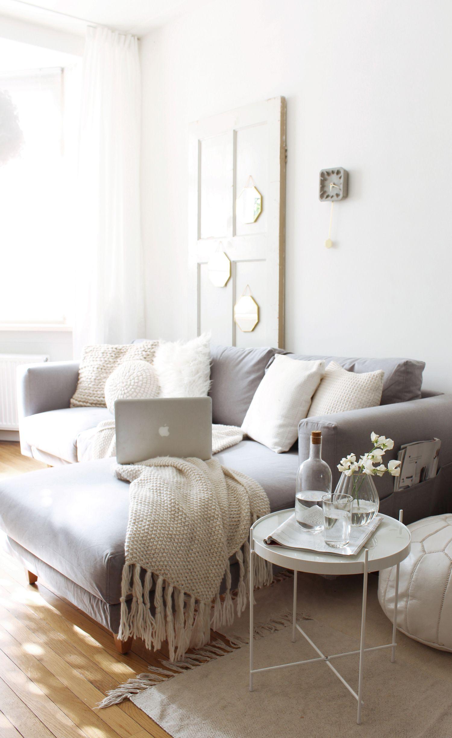 Elegant Blog # 45 Weiß Von Einfach Bis Luxuriös Grau: Neue Sofa Schutzhülle über  Comfort Works