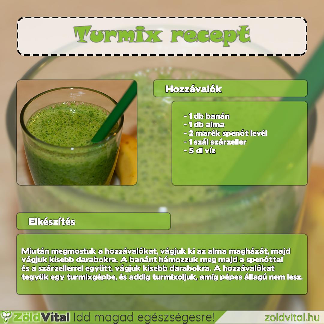 zöld turmix diéta)