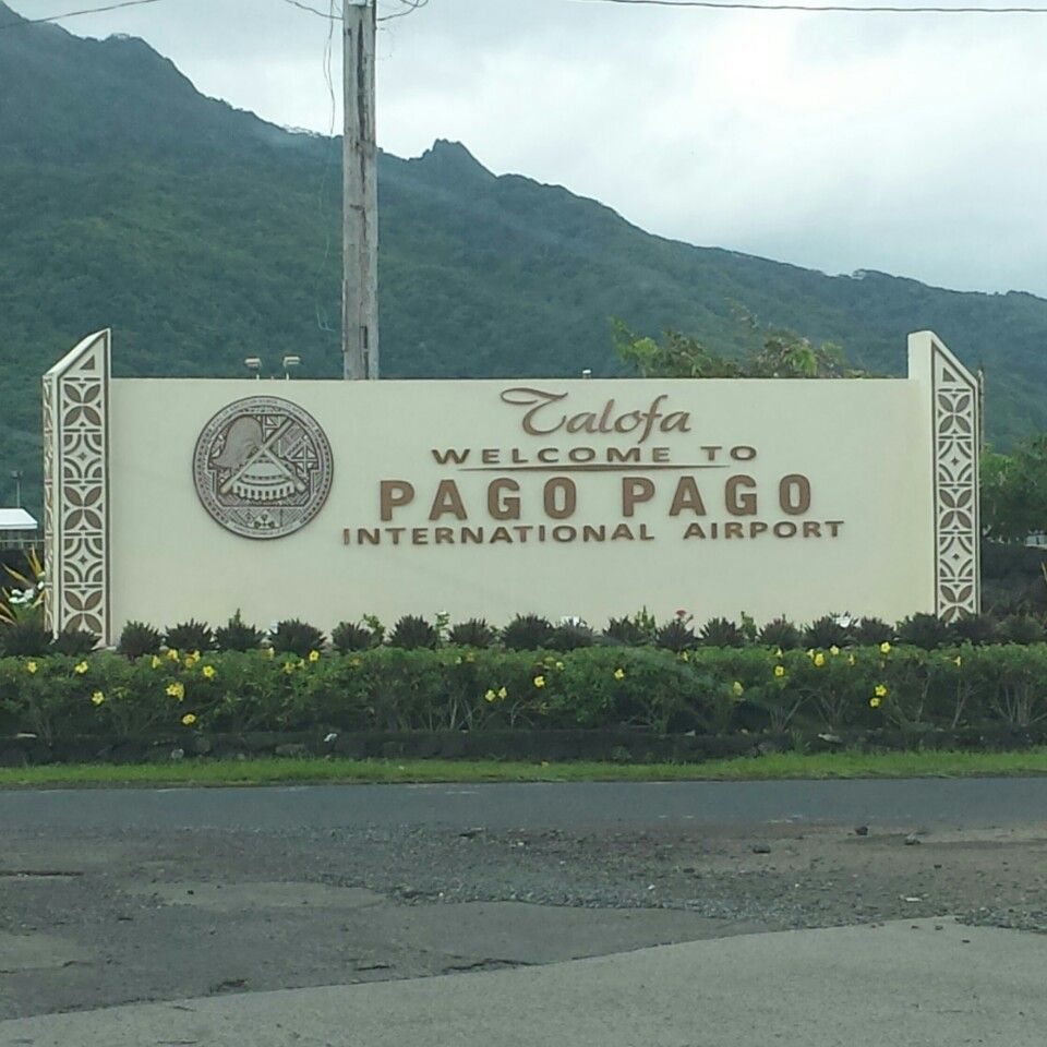 Pago Pago International Airport (PPG) South pacific