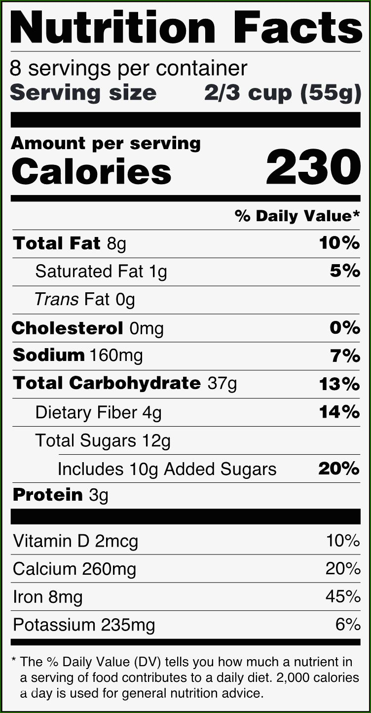 14 Skillful Fda Nutrition Label Template In 2020 In 2020 Nutrition Facts Label Nutrition Facts Nutrition Labels