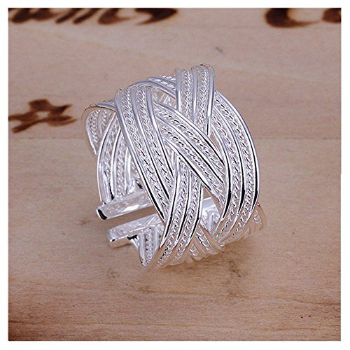 NYKKOLA Beautiful Stunning 925 Sterling Silver Fashion Jewelry Open Ring Finger Ring(O) NYKKOLA http://www.amazon.com/dp/B00UTBEYFC/ref=cm_sw_r_pi_dp_oBVGvb060QNGT