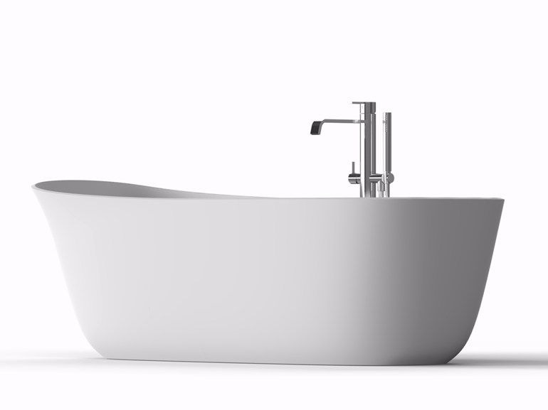 Vasca Da Bagno Lupi : Vasca da bagno centro stanza ovale in flumood® dafne by antonio lupi