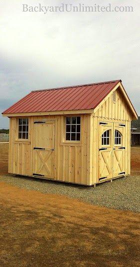 Sheds Album Image 1 Backyard Unlimited Carriage House Doors Backyard Sheds Shed House Plans