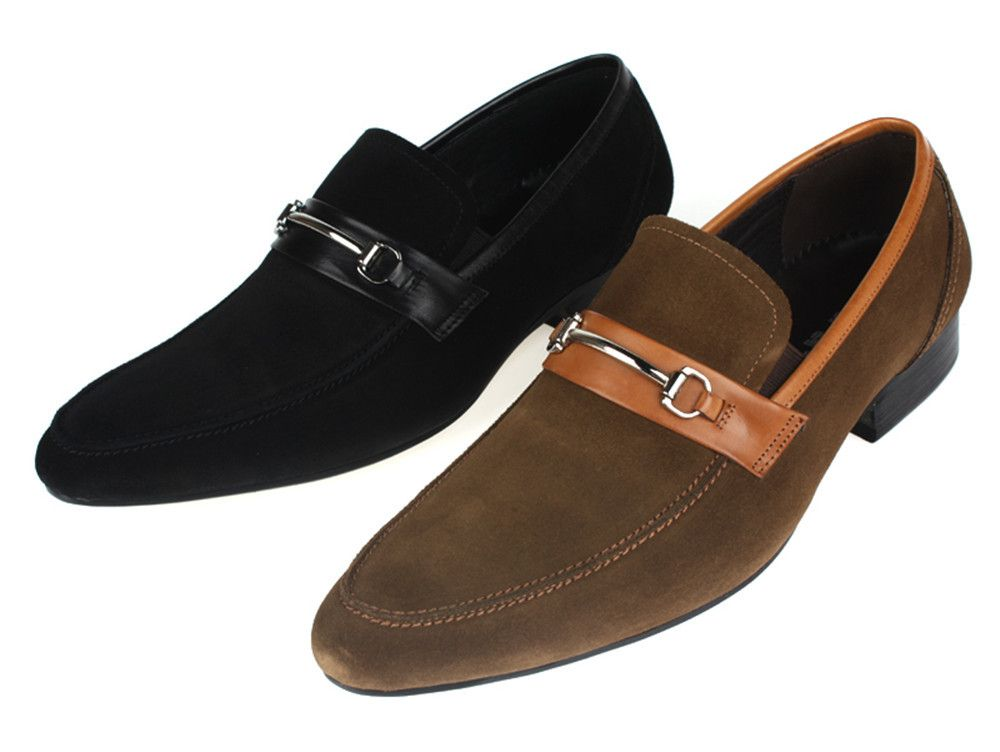 Black casual dress shoes mens