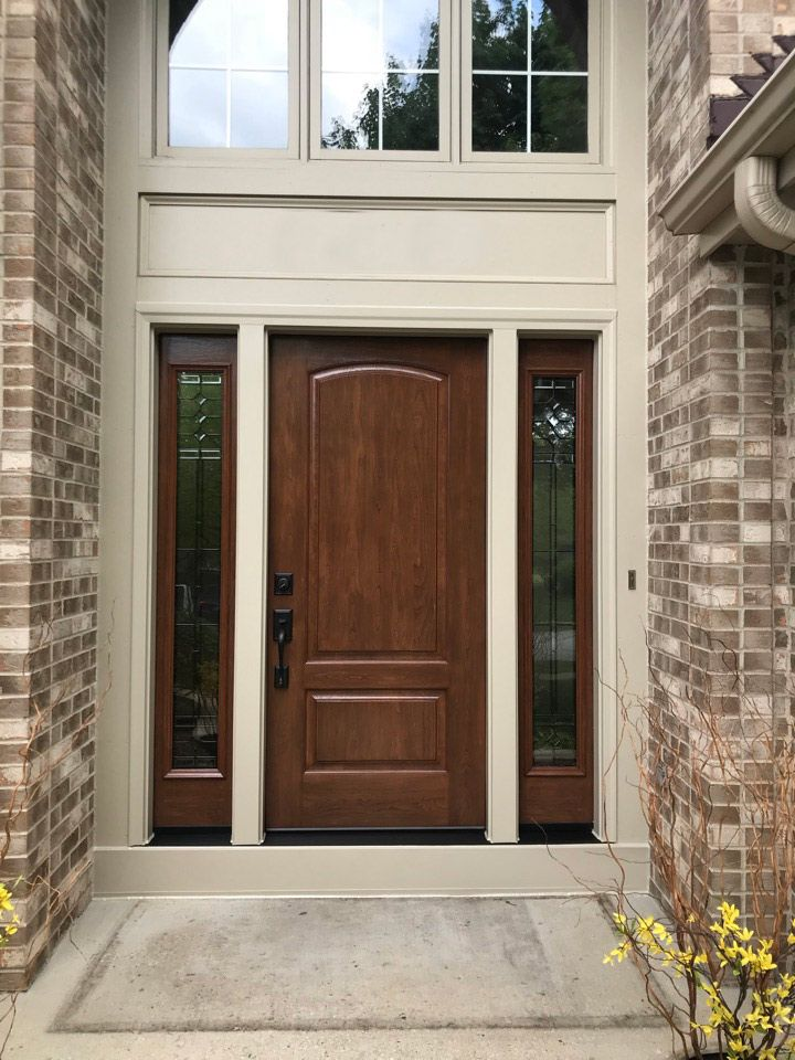This Beautiful Entry Way Oozes Curb Appeal This Is A Recent