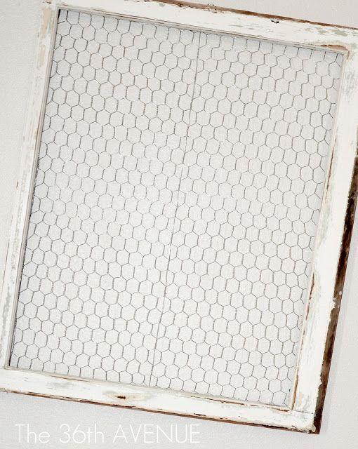 Chicken Wire Window Frame & Party TIME | Window frames, Chicken wire ...