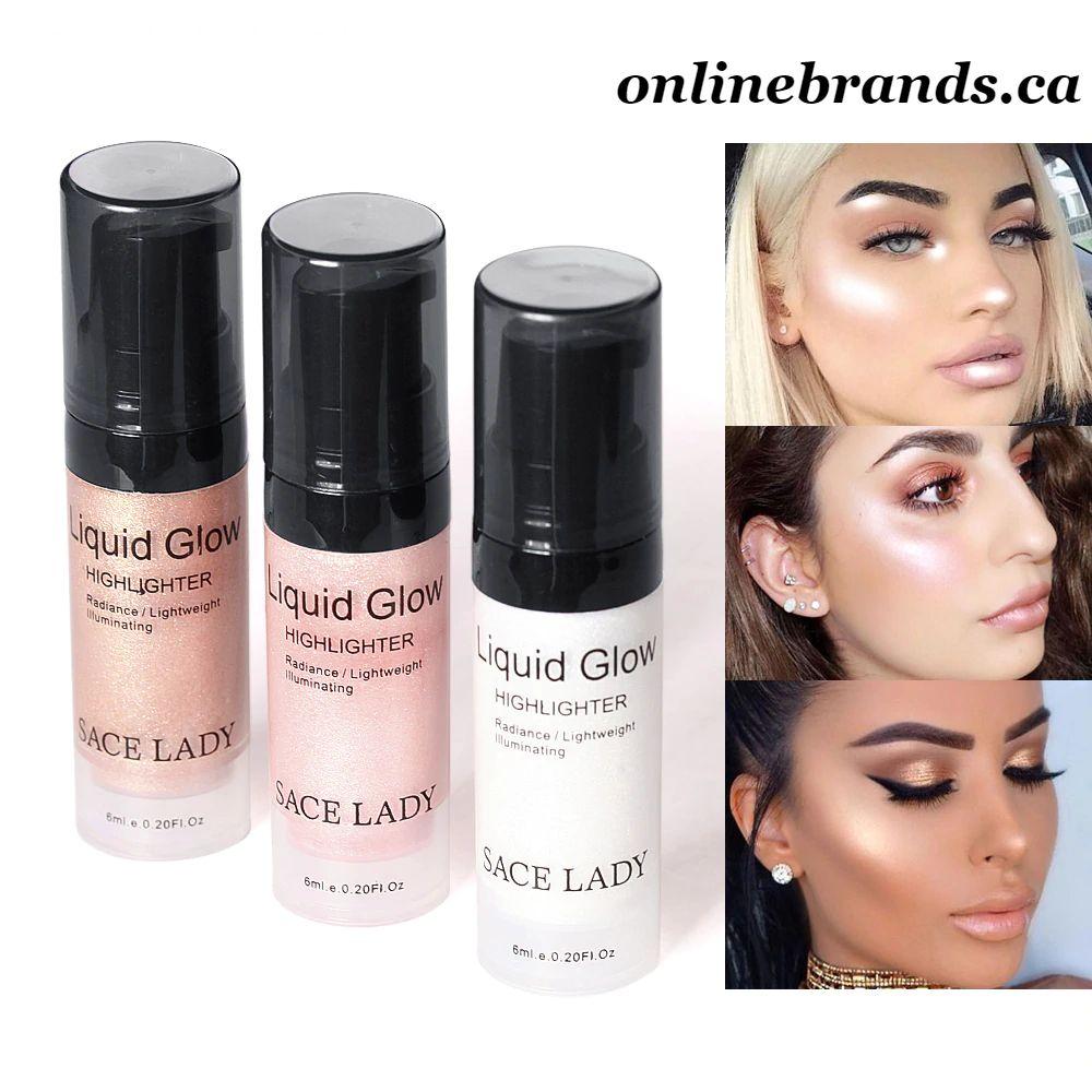 Face Highlighter Cream Liquid glitter Glow online brands