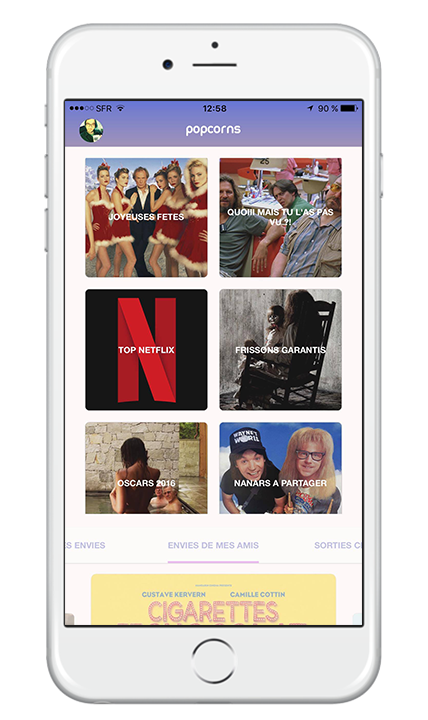 popcorns the netflix chill app product hunt community board