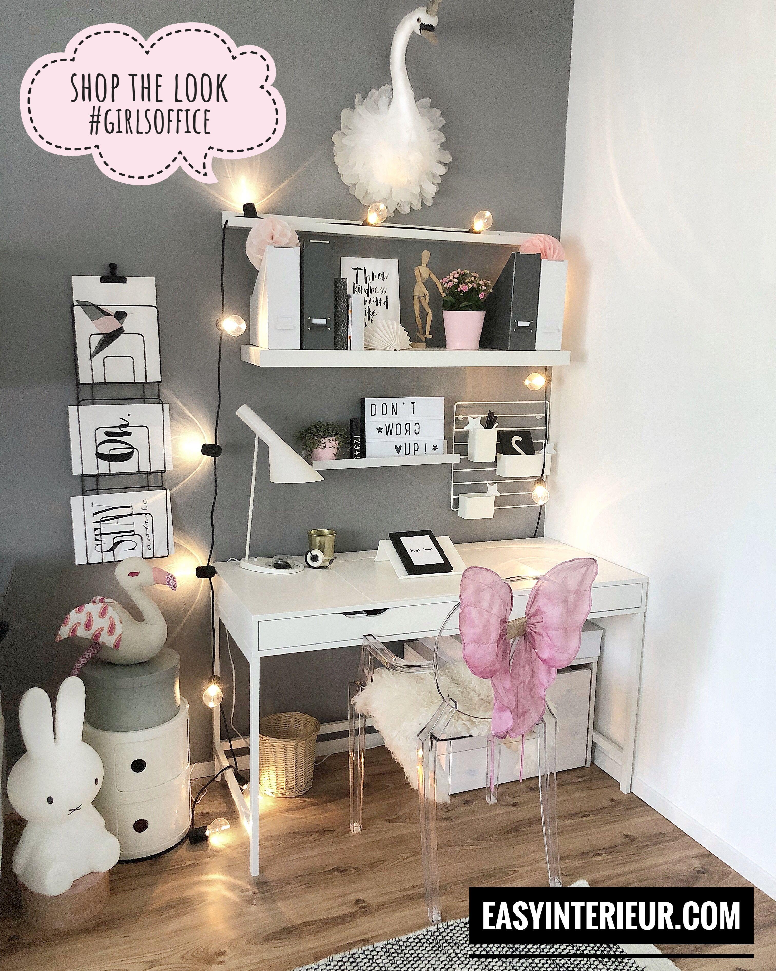Shop The Look Girls Office Zimmer Einrichten Jugendzimmer Zimmer Einrichten Tumblr Zimmer Einrichtung