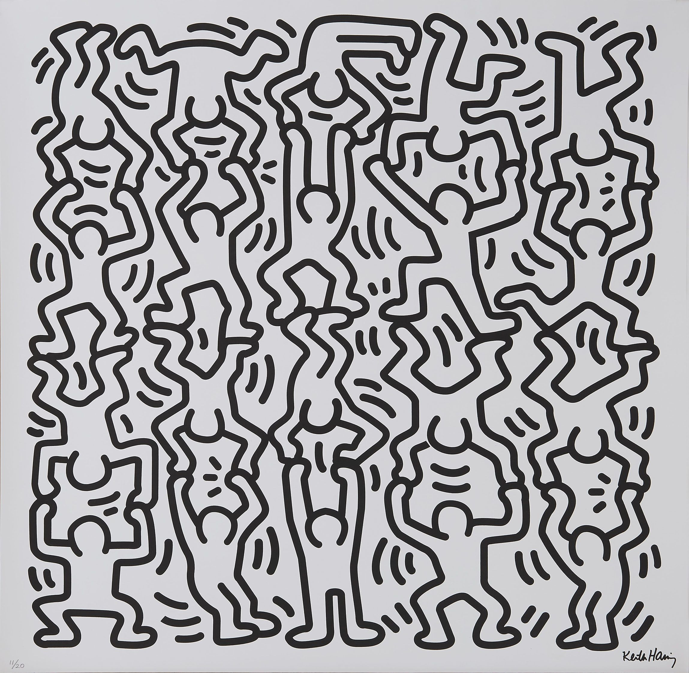 Haring Keith Titre Sanssans Titre Keith Haring Sans Titrekeith Haring Sans Titre Keith Haring Art Haring Art Keith Haring