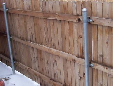 Metal Fence Post Brackets
