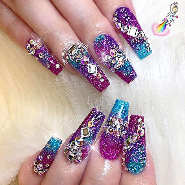 Pinterest Joniwhite219 Nails Luxury Nails Glitter Nails