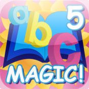 ABC MAGIC 5 Letter Sound Matching (K) | Kindergarten iPad Apps