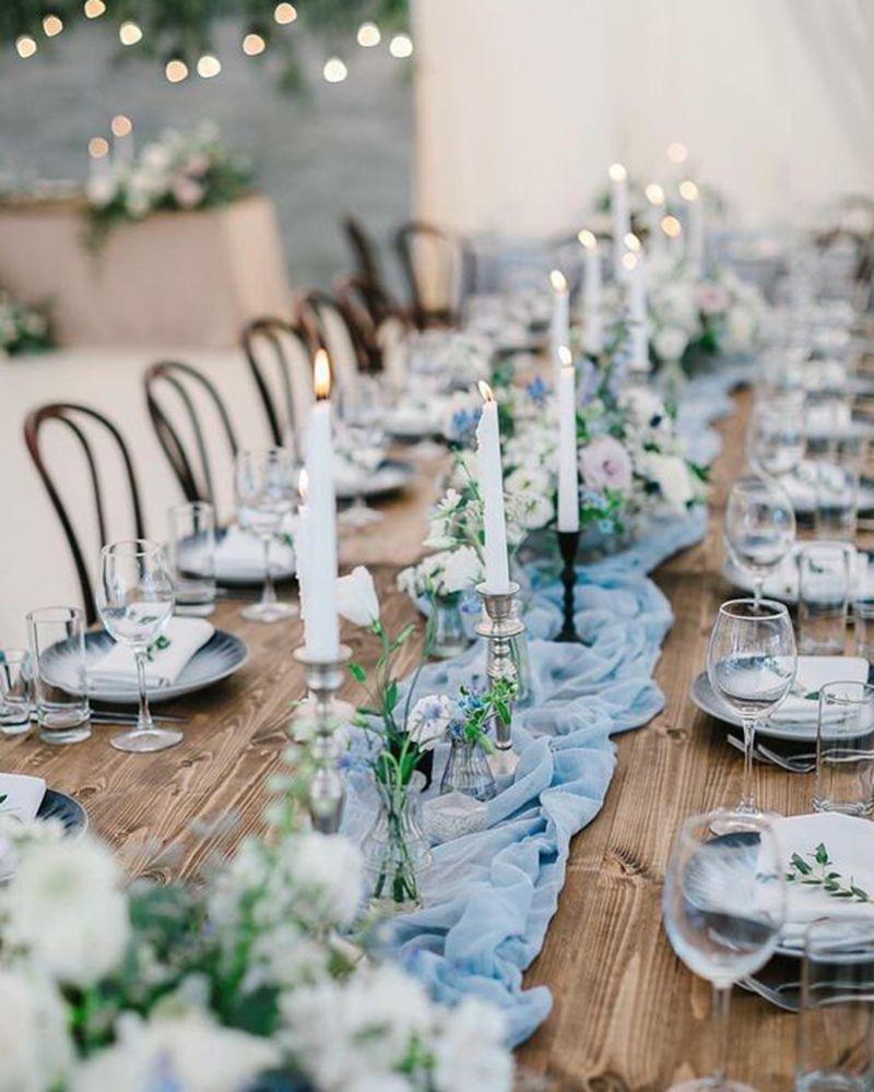 Dusty Blue Mountain Wedding Inspiration