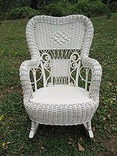 Incredible Fancy Antique Victorian Childs Wicker Rocker Heywood Ncnpc Chair Design For Home Ncnpcorg