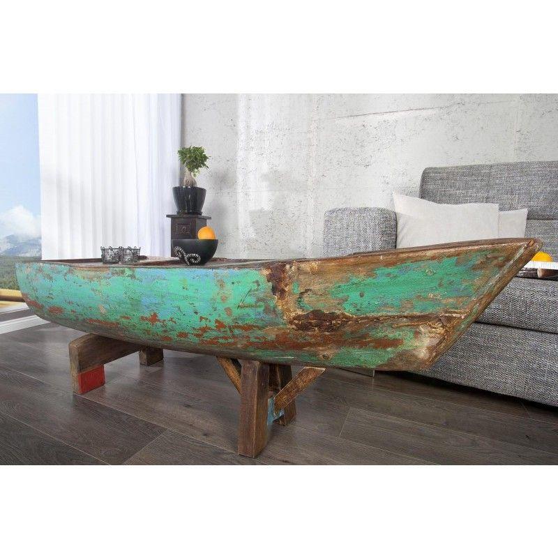 Moderne Salontafel Hout.Moderne Salontafel Bali 150cm Gekleurd Uit Gerecycled Hout 22744
