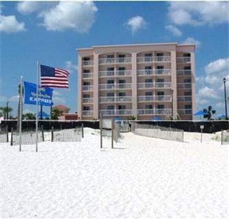 Dog Friendly Hotel In Orange Beach Al Holiday Inn Express Orange Beach On The Beach With Images Orange Beach Orange Beach Vacation Holiday Inn