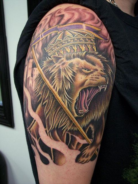 The lioness tattoo has profound and deep meaning ...