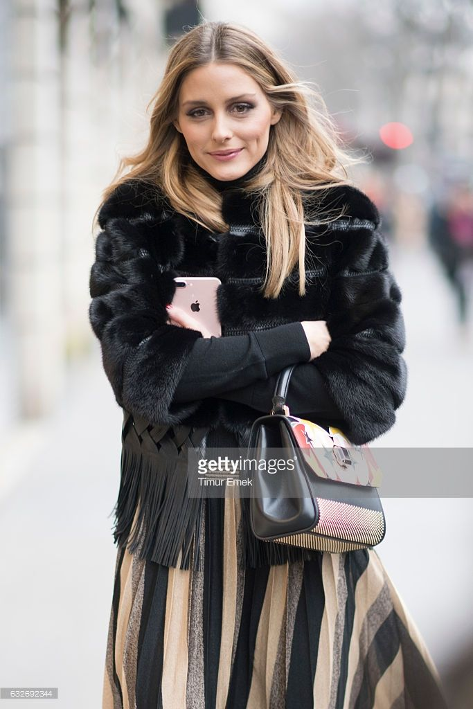 Fotografia de notícias : Olivia Palermo seen in the streets of Paris...