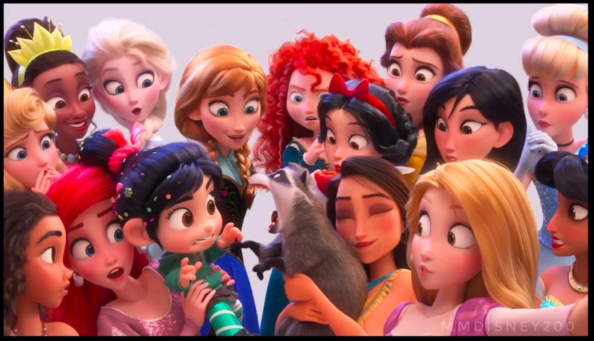 Another Princesses Selfie Wreck It Ralph 2 Portrait