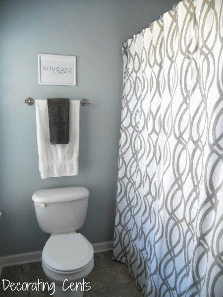 Dutch Boy Pale Blue Spring Bathroom Paint Color | Home ...