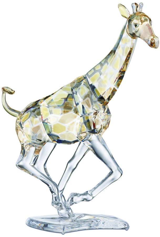 afc454089 Swarovski Crystal Giraffe Figurine - SALE. Swarovski Crystal Figurine.