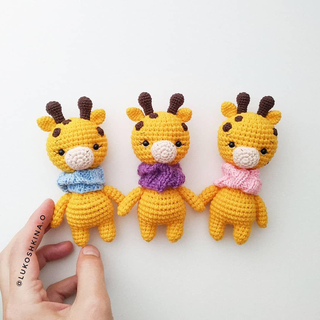 FREE amigurumi giraffe pattern