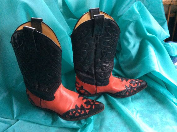 05dd428a446 Tony Mora ladies cowhide cowboy boots low by CleosTreasureChest ...