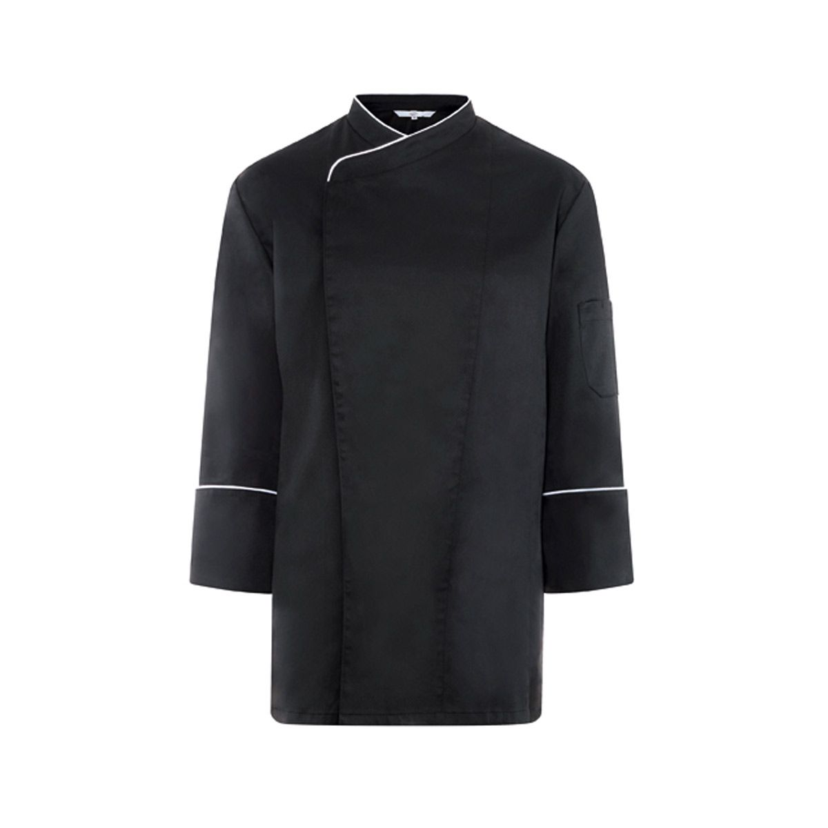 veste cuisine noir homme 5545 est un vêtement de travail