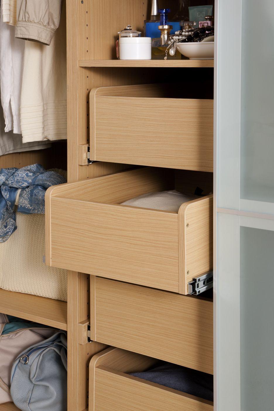 kaboodle 450mm light oak wardrobe drawer bunnings warehouse oak wardrobe closet clothes on kaboodle kitchen bunnings drawers id=26166
