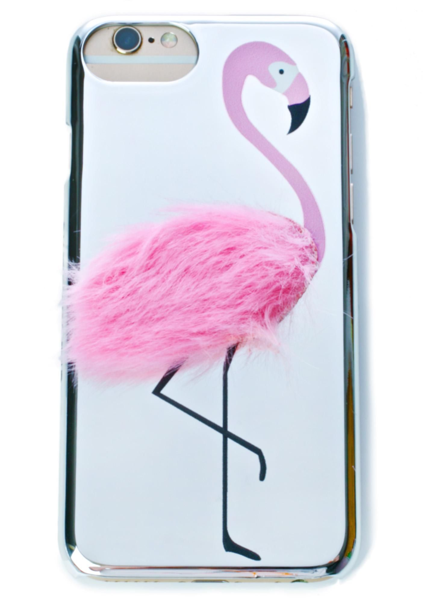 on sale 18820 b93be Flamingo Fluff iPhone Case |