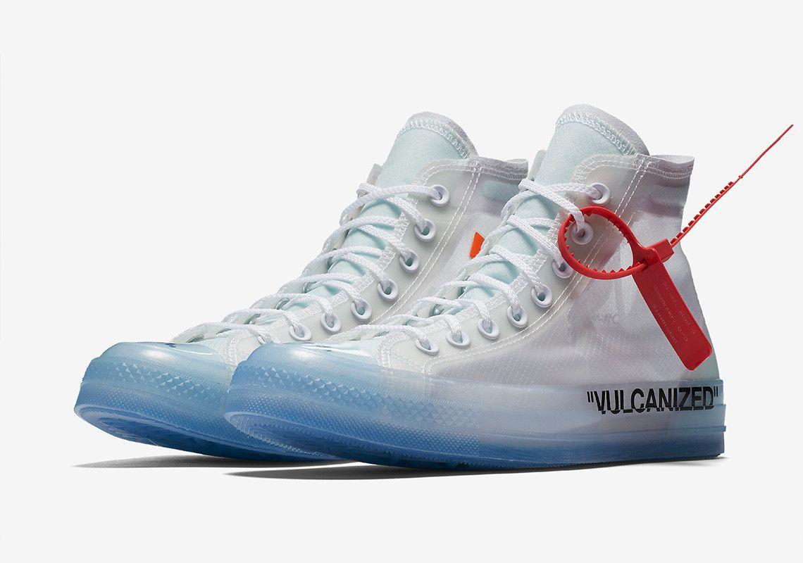 Store List Off White X Converse Chuck 70 Sneakernews Com Chucks Converse White High Top Sneakers Converse