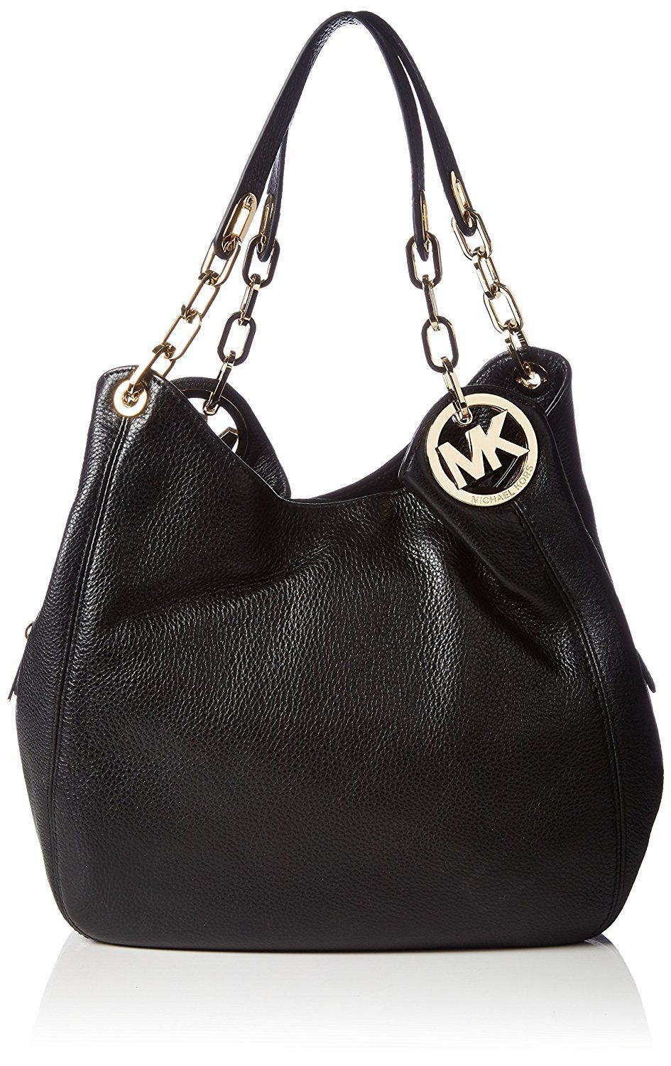 dce9047c3765ed Michael Kors Fulton Large Leather Shoulder Bag ** Read more reviews of the  product by visiting the link on the image.
