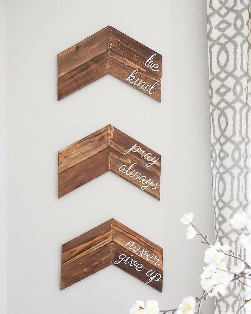 Chevron Wall Decor From Simplydesigning I Have The Perfect Spot In My House For These