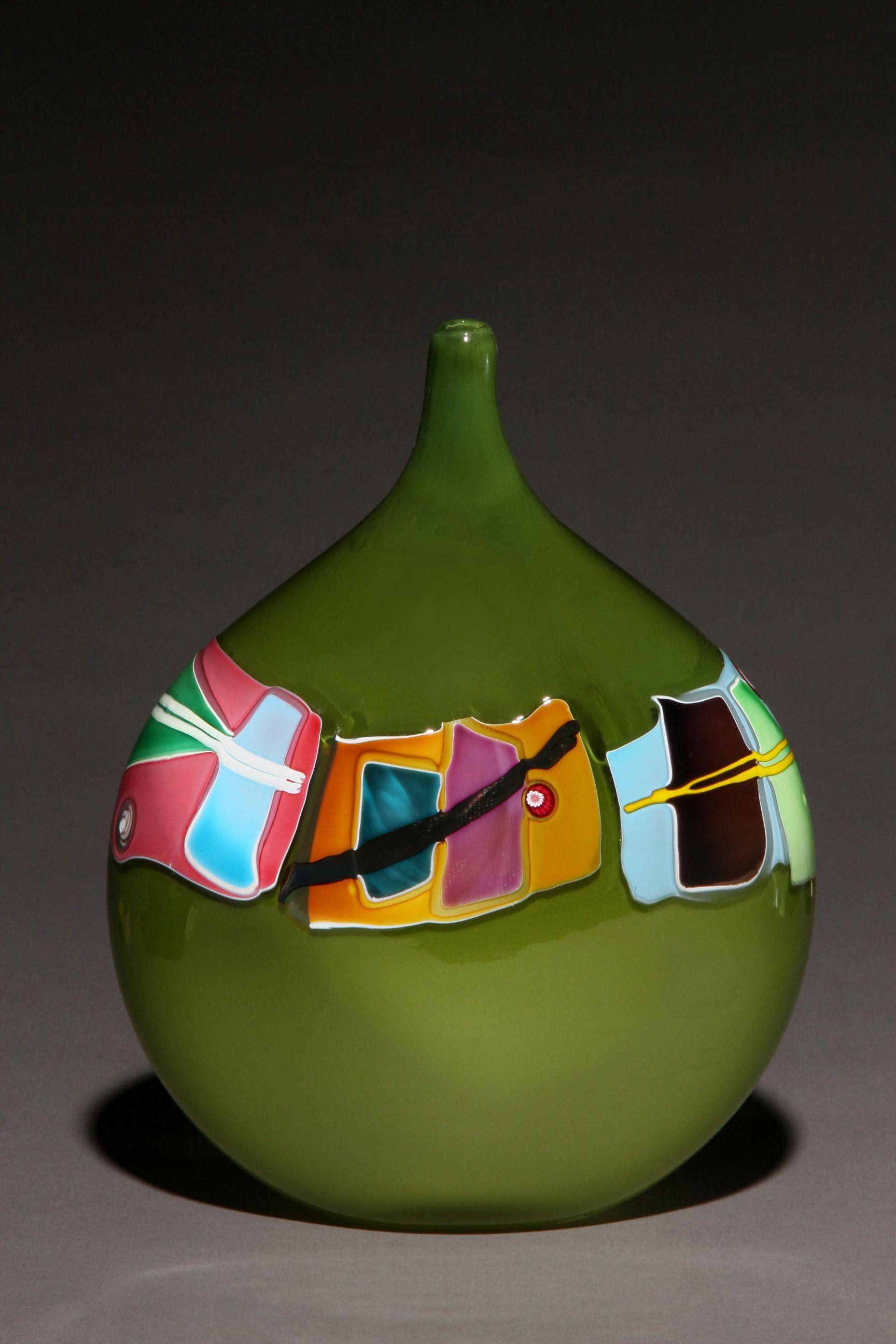 Pattern Vessel Series | James Wilbat Glass Studio